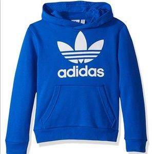 Brand new with tags Originals Trefoil Hoodie, blue